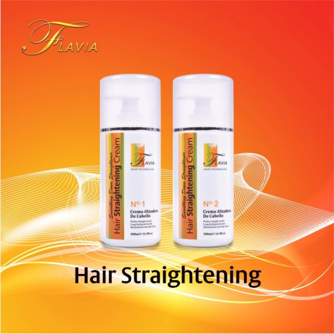 ریباندینگ فلاویا - hair straghting